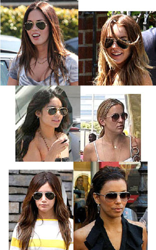 Everyone looks great in Aviators