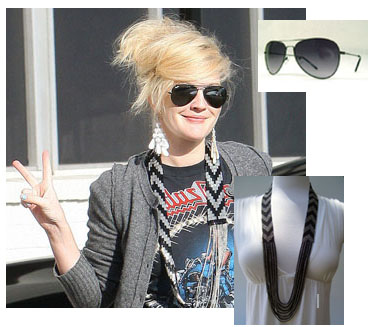 Necklace and sunglasses set for just $24