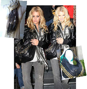 Jessica Simpson's Rocker Chic Look