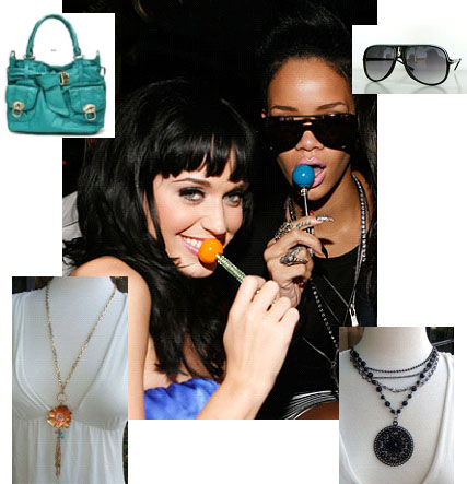 Katy Perry and Rhianna: Sweet Fashion