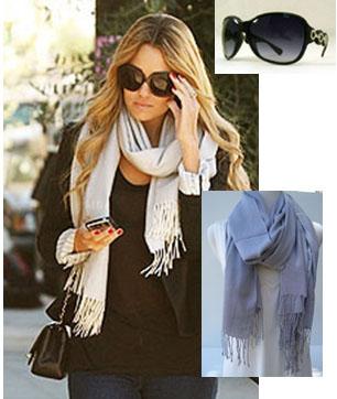 Lauren's scarf, love it!