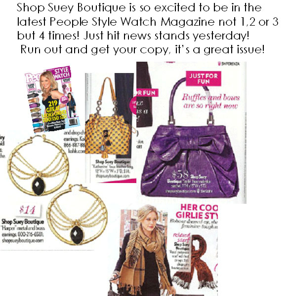 Our fave is the purple Stella Handbag!
