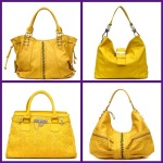 yellow handbags for spring