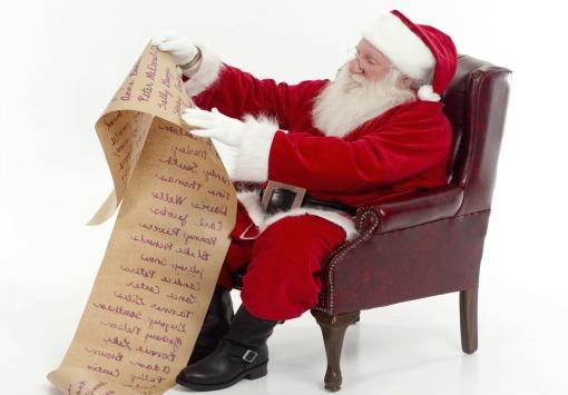 List to Santa