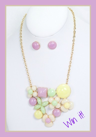 Abbie Necklace giveaway