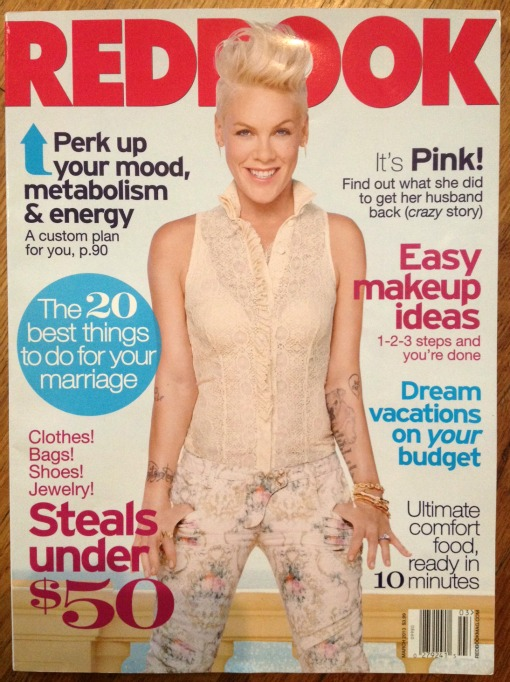 March 2013 Redbook featuring Shop Suey Boutique