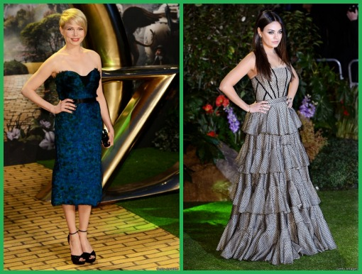 Michelle and Mila, 2 stars from Oz: The Great and Powerful