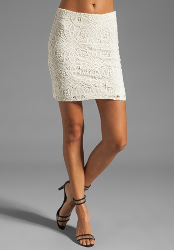 Perfect Pair: Mini Skirt and Heels