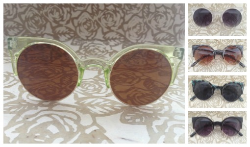 Amber sunglasses from Shop Suey Boutique