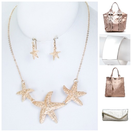 mad for metallic, Shop Suey Boutique accessories