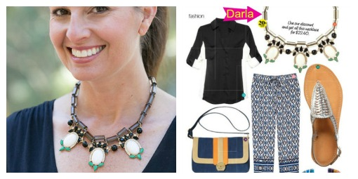 Darla Necklace featured in August Redbook
