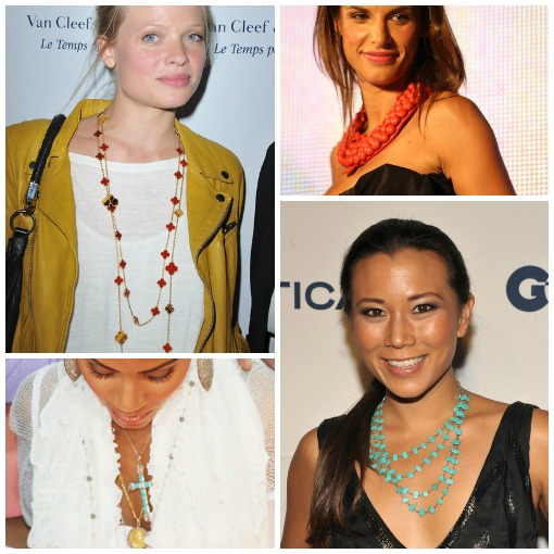 Fashion Trend: Layered Necklaces