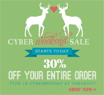 Cyber Weekend Sale at Shop Suey Boutique
