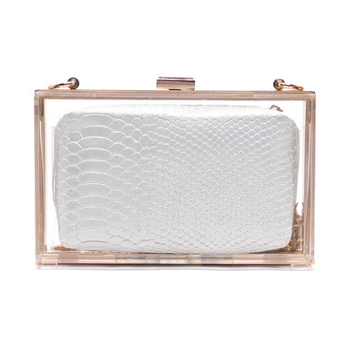 See-Through Clutches at Shop Suey Boutique