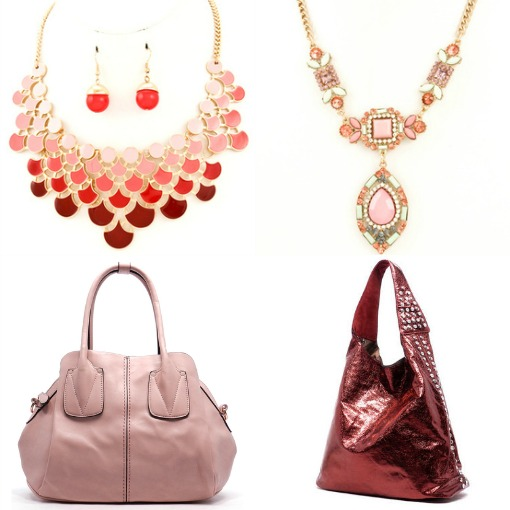 Red and Pink Accessories from Shop Suey Boutique