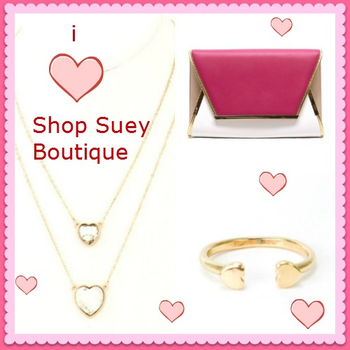 Valentine's Day with Shop Suey Boutique