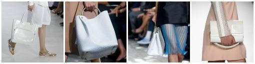White Handbag Trend for Spring 2014