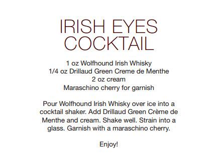 irish eyes cocktail
