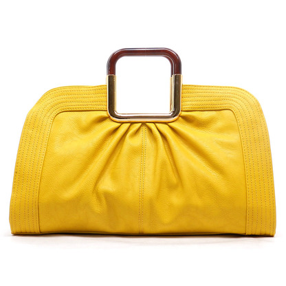 julie tote in yellow, shop suey boutique
