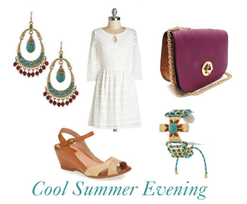 cool summer evening outfit