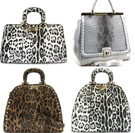 Animal Print Handbags from Shop Suey Boutique