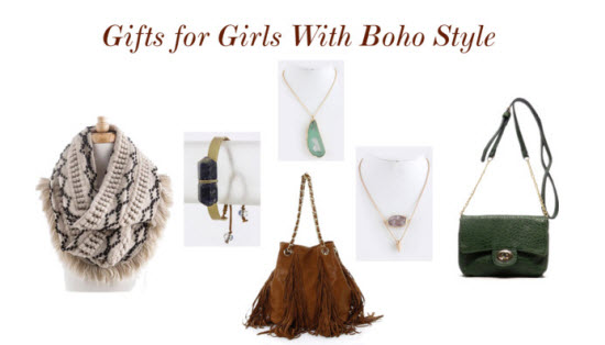 Gifts for the Girl with Boho Style
