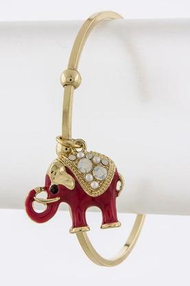 Tinseley elephant bracelet