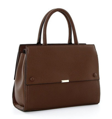 Minimalist Inga Satchel in brown