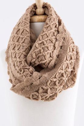 roxanne scarf in tan