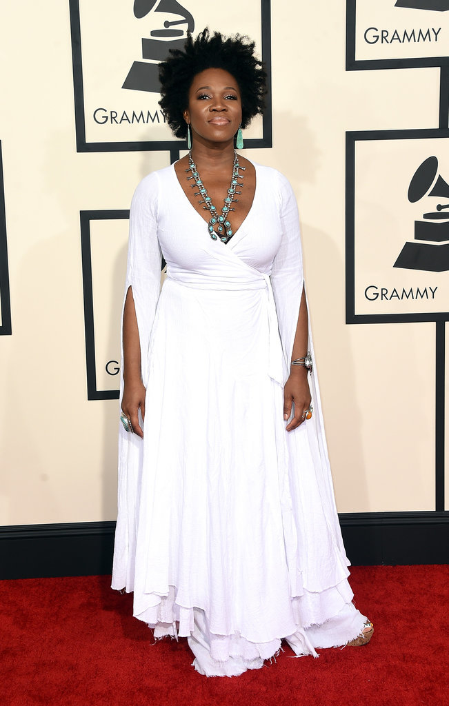 India Arie at the 2015 Grammys