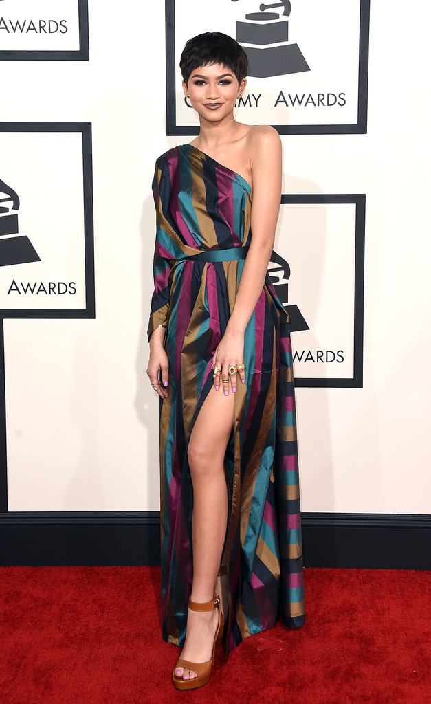 Zendaya at the 2015 Grammys