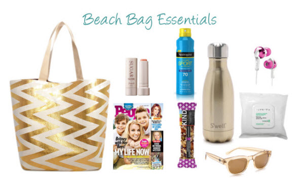 beach bag essentials | shopsueyboutique.com