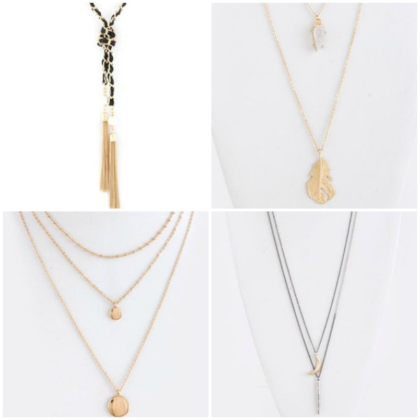 Perfectly Layered Necklaces for Spring 2015 | shopsueyboutique.com