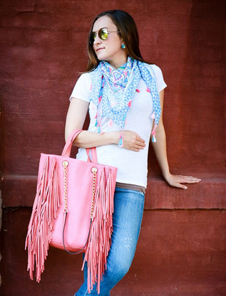 Florence Fringe Bag from Shop Suey Boutique